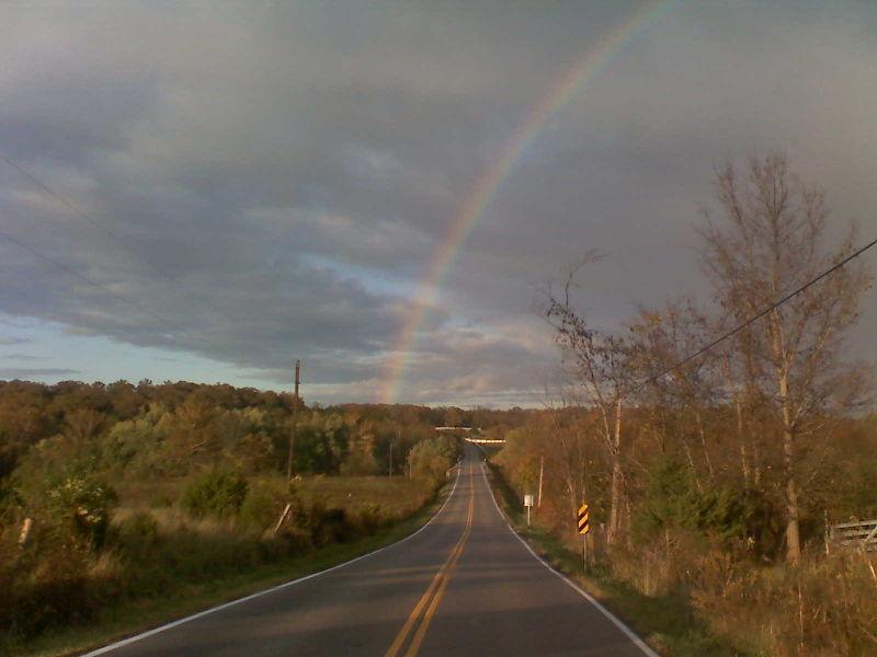 Clara's rainbow